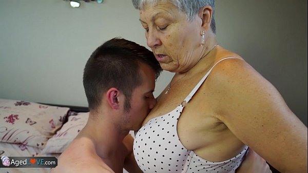 A grandmother whore for a greedy son