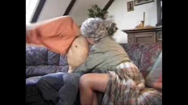 The grandson gives an unforgettable fuck to his grandmother