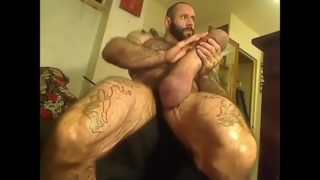 Man with the world's biggest dick records masturbating for webcam