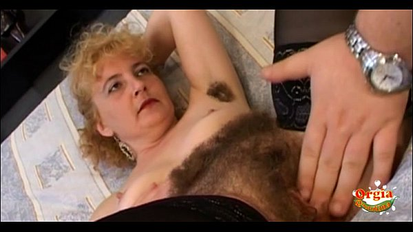 Eating my mother's hairy pussy